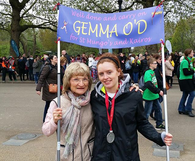 Eileen and Gemma O'Driscoll