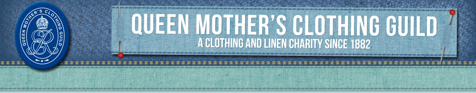 Queen Mother's Clothing Guild banner