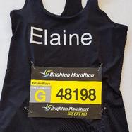 Elaine Anderson-Wright, Brighton Marathon 2017